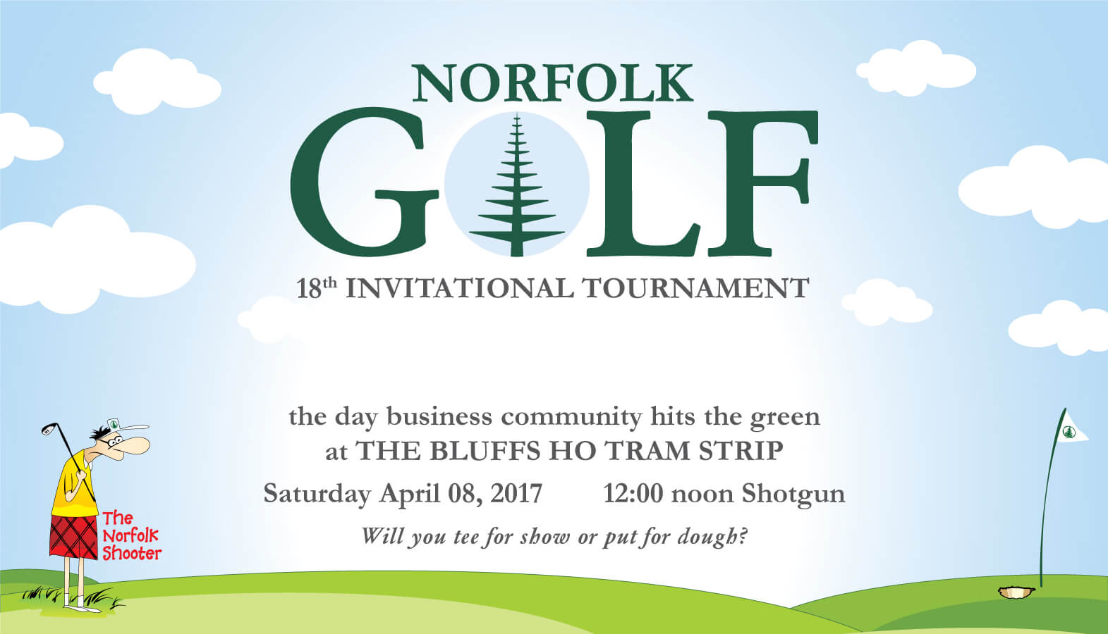 The 18th Norfolk Invitational Golf Tournament in 2017